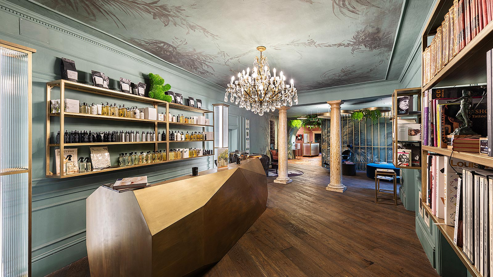 The historic salon in Bolzano Norma Hair Studio